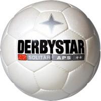 Derbystar Solitär Voetbal - Wit / Zwart