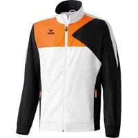 Erima Premium One Presentatiejack - Wit / Zwart / Neon Oranje