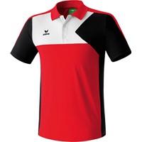 Erima Premium One Polo - Rood / Zwart / Wit