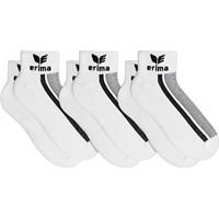 Erima 3 Paar Korte Sokken - Wit