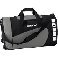 Erima Sporttas Met Wieltjes - Graniet / Zwart