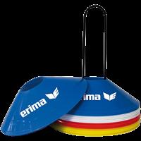 Erima Set Kegels - Rood / Blauw / Geel / Wit