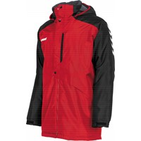 Hummel Authentic Coachvest - Rood / Zwart