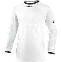 Jako United Voetbalshirt Lange Mouw Kinderen - Wit / Zwart / Lichtgrijs