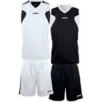 Joma Reversible Basketbalset - Wit / Zwart