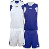 Joma Reversible Basketbalset Kinderen - Wit / Marine