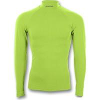 Joma Brama Shirt Opstaande Kraag - Fluo Groen