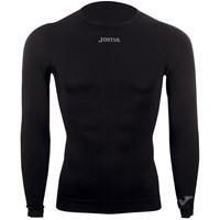Joma Brama Shirt Lange Mouw Kinderen - Zwart