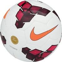 Nike Team Catalyst (5) Voetbal - White / Red / Total Orange