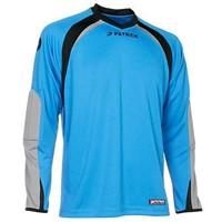 Patrick Calpe110 Keepershirt Lange Mouw - Lichtblauw / Grijs / Zwart