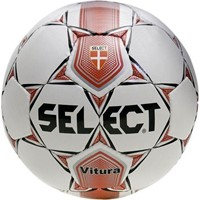 Select Vitura Voetbal - Wit / Rood