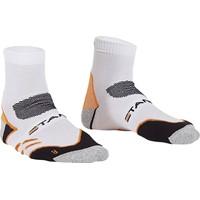 Stanno Running Sokken Dames - Wit / Oranje