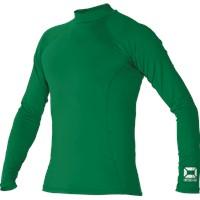 Stanno Shirt Opstaande Kraag - Groen