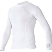 Stanno Shirt Opstaande Kraag - Wit