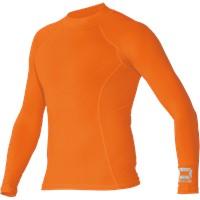 Stanno Shirt Opstaande Kraag - Oranje