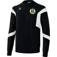 Erima Classic Team Sweatshirt Heren - Zwart / Wit