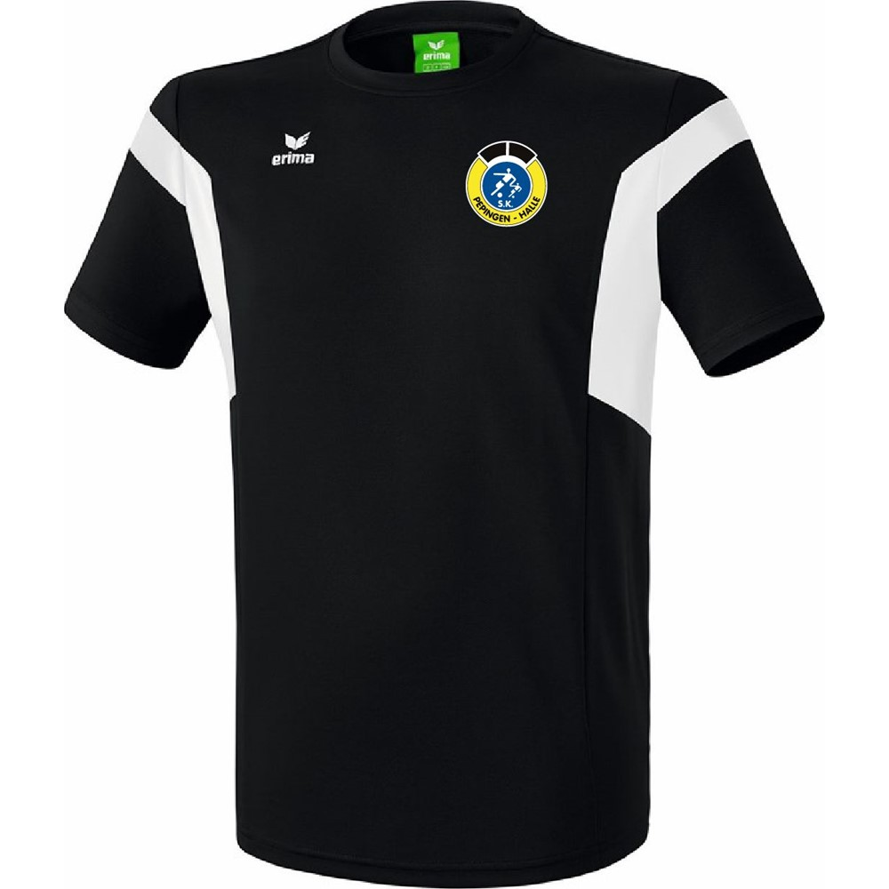 Picture of Erima Classic Team T-Shirt Kinderen - Zwart / Wit
