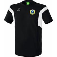 Erima Classic Team T-Shirt Kinderen - Zwart / Wit