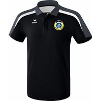 Erima Liga 2.0 Polo Kinderen - Zwart / Wit / Donkergrijs