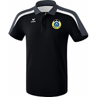 Erima Liga 2.0 Polo Heren - Zwart / Wit / Donkergrijs