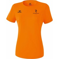 Erima Teamsport Functioneel T-Shirt Dames - Oranje