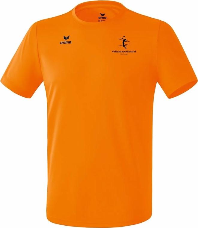 Picture of Erima Teamsport Functioneel T-Shirt Heren - Oranje