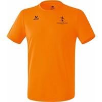 Erima Teamsport Functioneel T-Shirt Heren - Oranje
