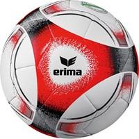 Erima Hybrid Training (4) Trainingsbal - Wit / Rood / Zwart / Grijs