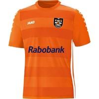 Jako Celtic 2.0 Shirt Korte Mouw Heren - Fluo Oranje / Wit