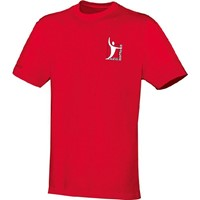 Jako Team T-Shirt Heren - Rood