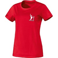 Jako Team T-Shirt Dames - Rood