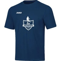 Jako Base T-Shirt Heren - Marine