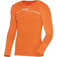 Jako Comfort Shirt Lange Mouw Kinderen - Fluo Oranje