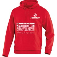 Jako Team Sweater Met Kap Dames - Rood