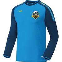 Jako Champ Sweater Kinderen - Jako Blauw / Marine / Fluogeel