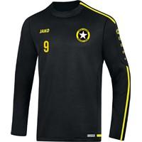 Jako Striker 2.0 Sweater Heren - Zwart / Fluogeel
