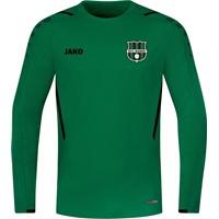 Jako Challenge Sweater Heren - Sportgroen / Zwart