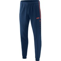 Jako Competition 2.0 Polyesterbroek Heren - Navy / Flame
