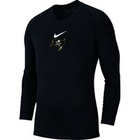 Nike Park First Layer Shirt Lange Mouw - Zwart