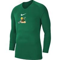 Nike Park First Layer Shirt Lange Mouw Heren - Groen