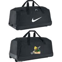 Nike Club Team Roller Bag 3.0 Teamtas Trolley - Black / White