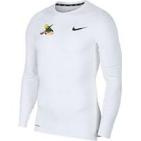 Nike Pro Shirt Lange Mouw - Wit