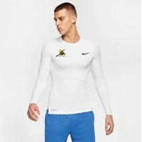 Nike Pro Shirt Lange Mouw Heren - Wit