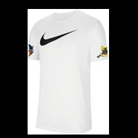 Nike Team Club 20 Swoosh T-Shirt Heren - Wit