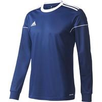 Adidas Squadra 17 Voetbalshirt Lange Mouw - Marine / Wit