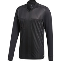 Adidas Ref18 Scheidsrechtersshirt Lange Mouw - Zwart