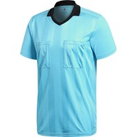Adidas Ref18 Scheidsrechtersshirt Korte Mouw - Bright Cyan
