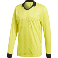 Adidas Ref18 Scheidsrechtersshirt Lange Mouw - Shock Yellow