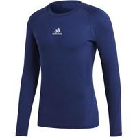 Adidas Alphaskin Shirt Lange Mouw Kinderen - Marine