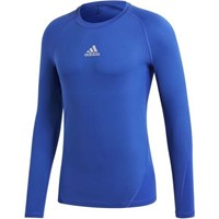 Adidas Alphaskin Shirt Lange Mouw Kinderen - Royal